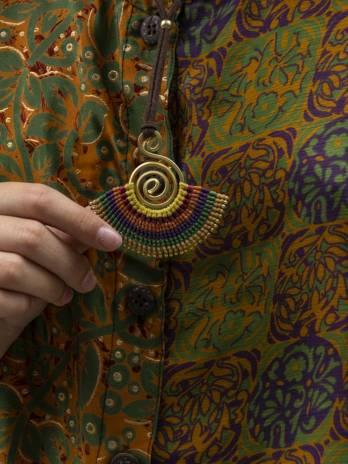 Collar cuzco macramé