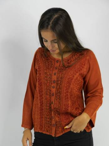 Chaqueta Embrodery