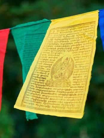 Banderas tibetanas 18 cm