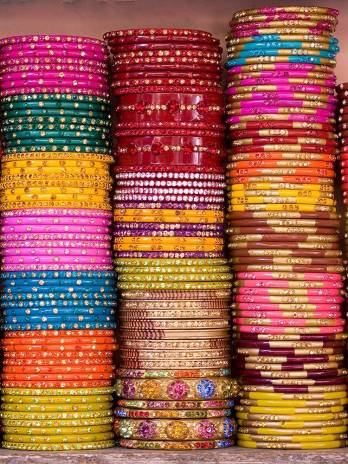 Pulseras Bollywood finitas...