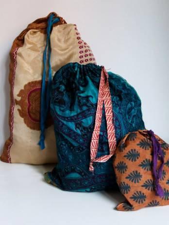 Paquete bolsas saree S x 50