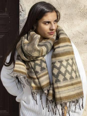 Mantita shawl lana
