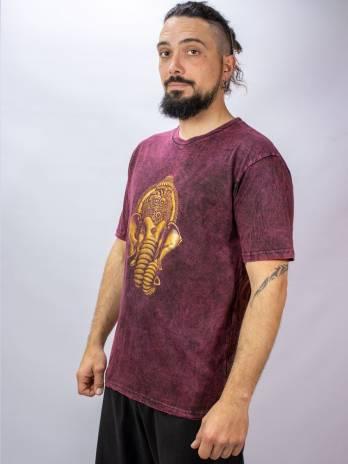 Camiseta Gold print