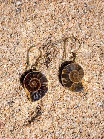 Pendiente Ammonite