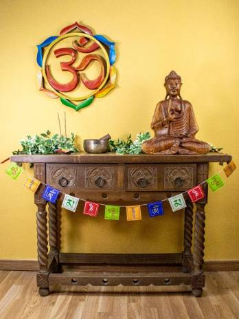 Banderita tibetana 8x8 cm