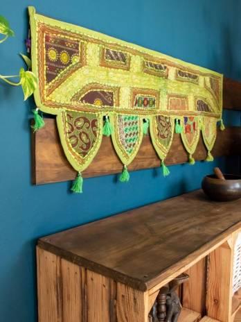 Toran bordado patchwork...